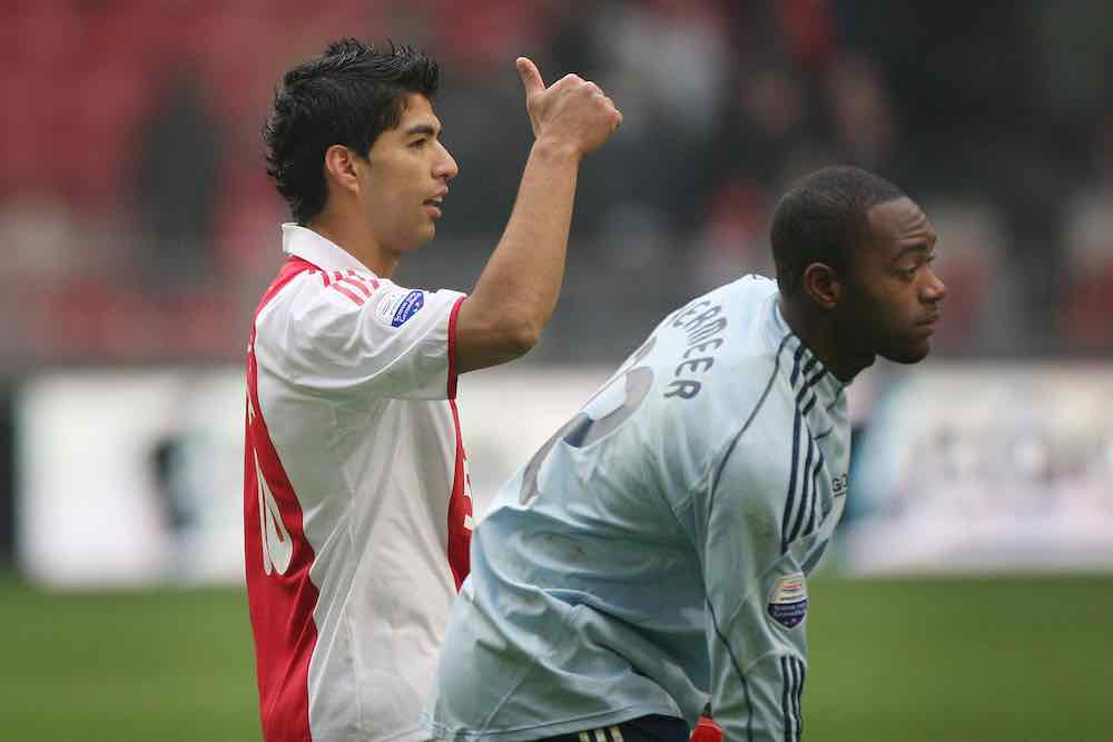Kenneth Vermeer Luis Suarez Ajax