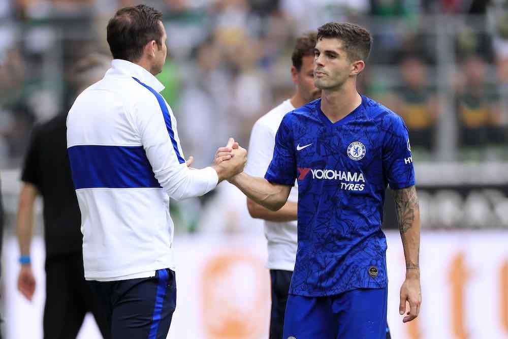 Lampard Pulisic Chelsea