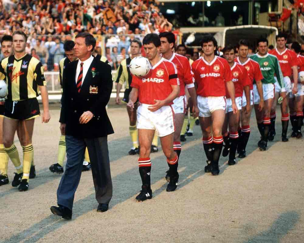 Man United Crystal Palace FA Cup final Alex Ferguson Bryan Robson