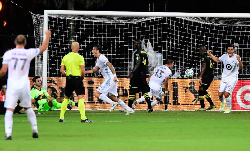Minnesota United's Double-Pivot Silences Columbus Crew As Loons Reach MLS is Back Quarter-Finals