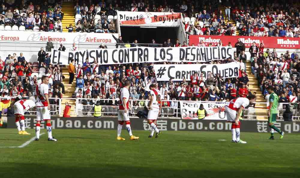 Rayo Vallecano Against Eviction Carmen Martínez Ayuso