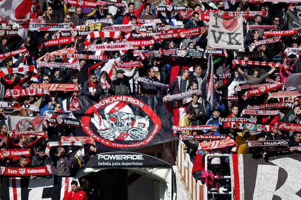 Rayo Vallecano Bukaneros supporters