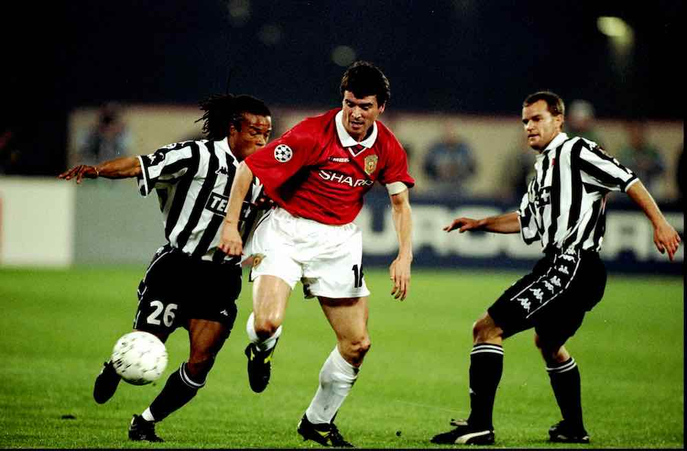 Roy Keane Man United Juventus 1999
