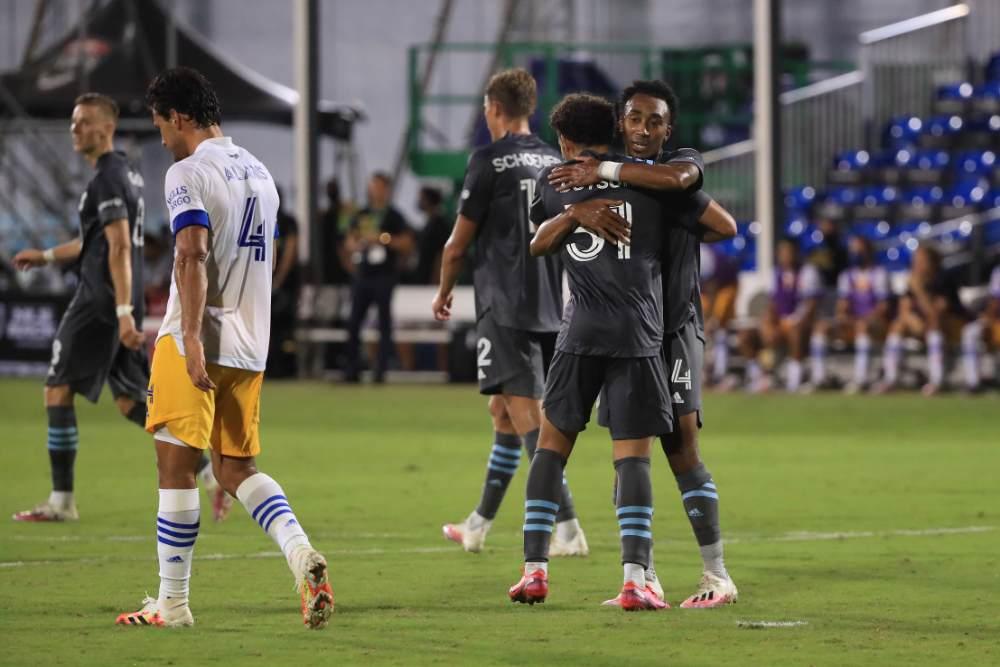 San Jose Earthquakes 1-4 Minnesota United: Hassani Dotson Stars As Loons Reach Semi-Finals
