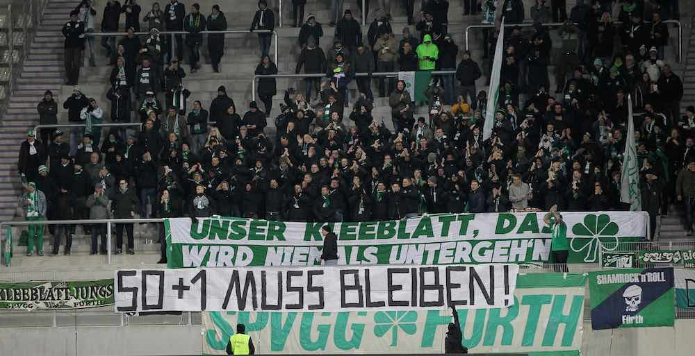 50+1 greuther fuerth fans