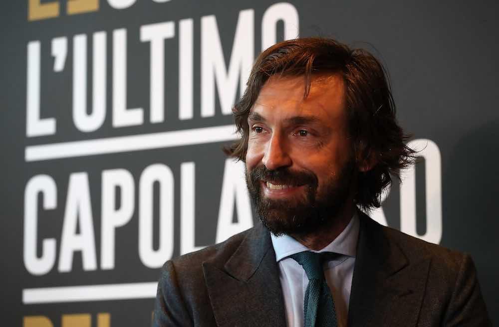 Andrea Pirlo Juventus suit