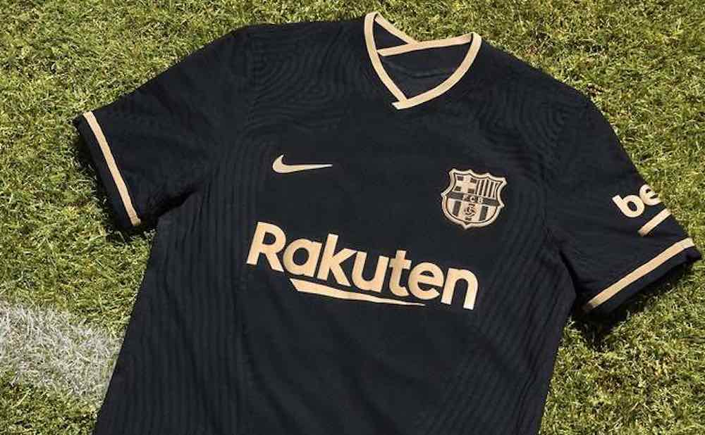 what dark truths does the new barcelona away kit hide barcelona away kit hide