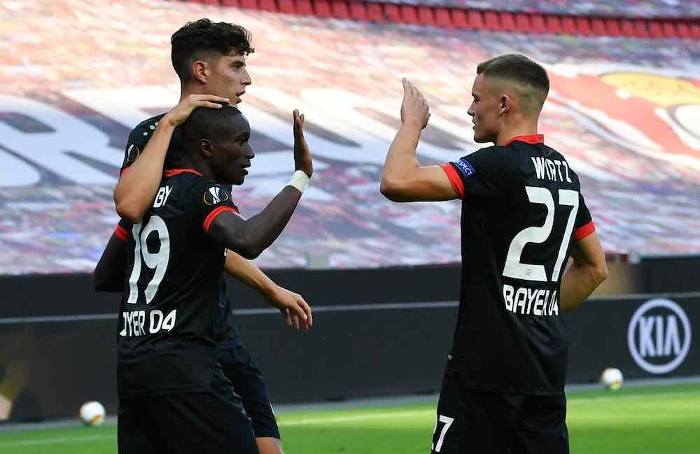 Havertz Wirtz Diaby Leverkusen