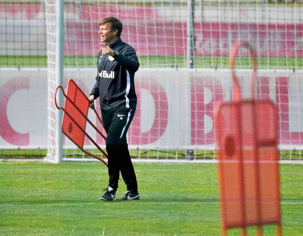 Jesse Marsch training Salzburg