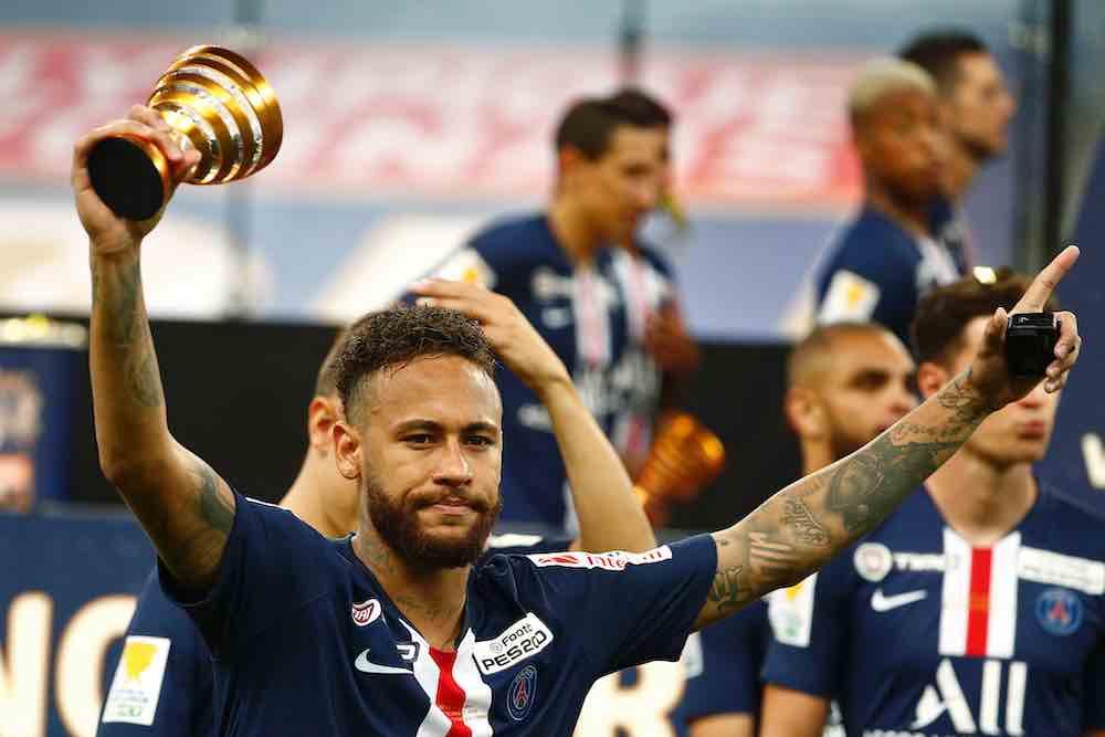 Neymar French Cup PSG