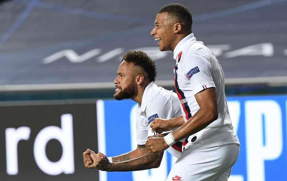 Neymar Mbappe PSG