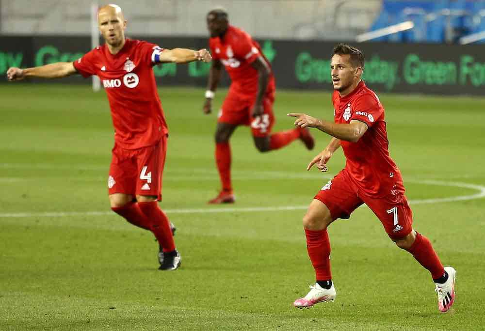 Pablo Piatti Michael Bradley Toronto TFC