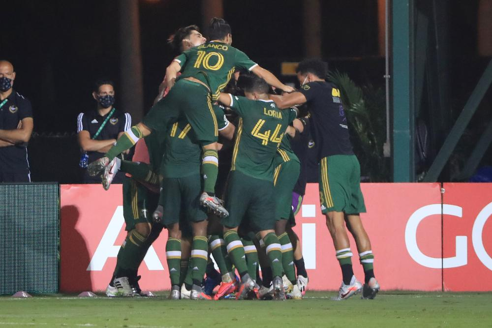 'Timeless' Valeri Inspires Portland Timbers To 2-1 MLS is Back Final Win Over Orlando City