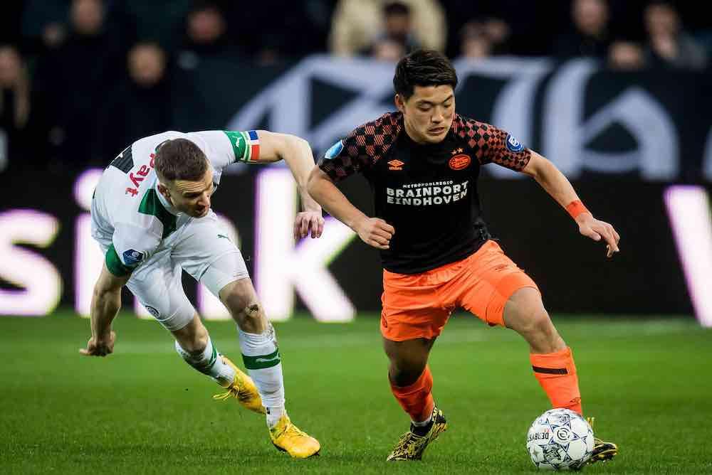 Ritsu Doan of PSV