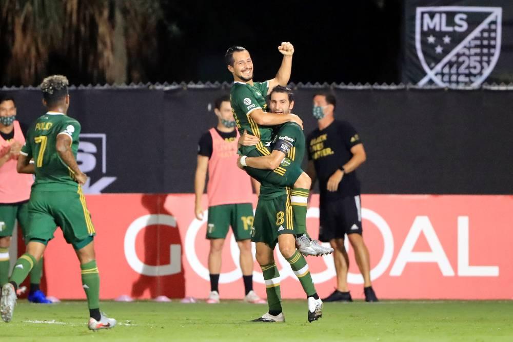 Sebastian Blanco - Diego Valeri - Portland Timbers - 06-08-2020
