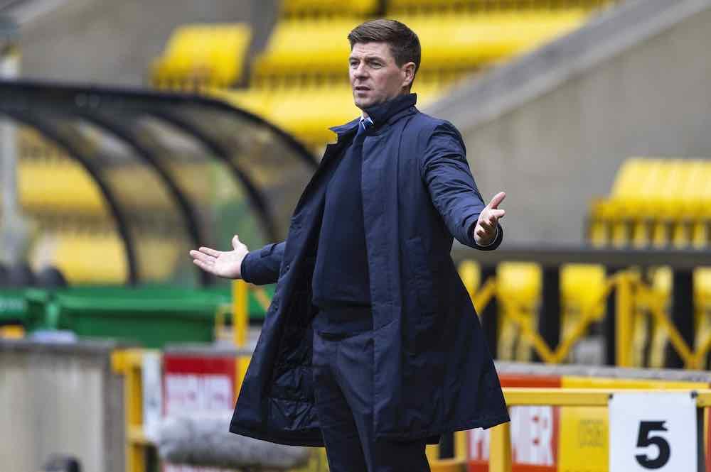 Steven Gerrard Rangers 08-20