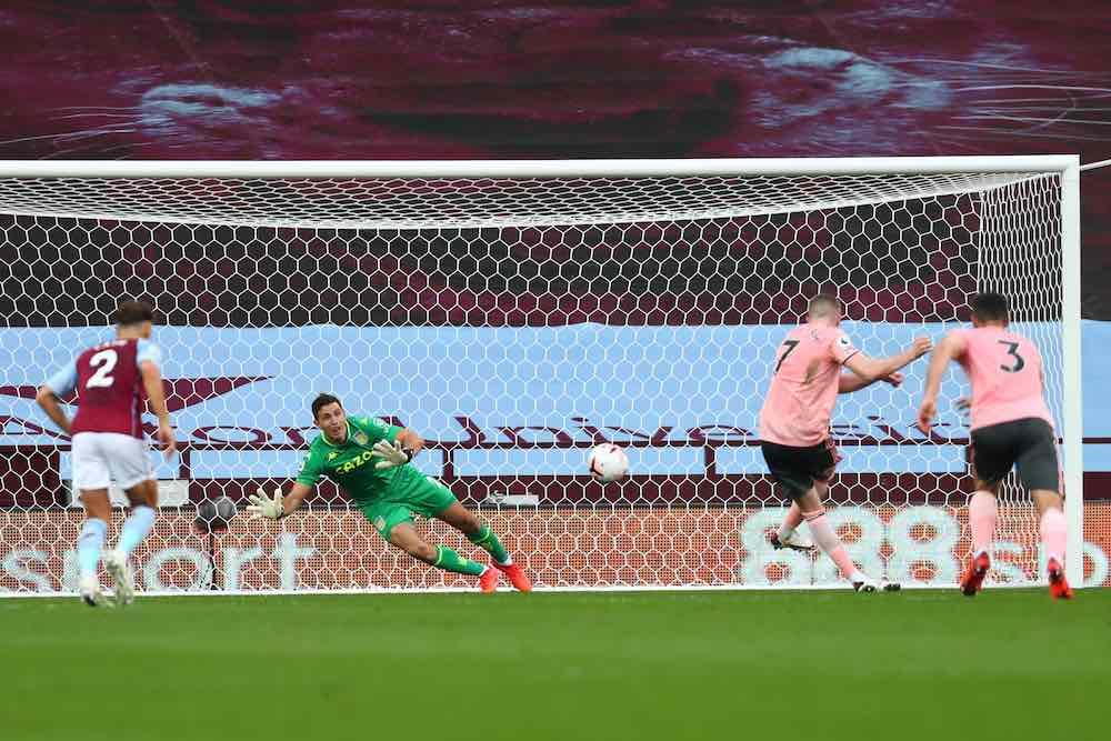 Emiliano Martinez Penalty Save Aston Villa