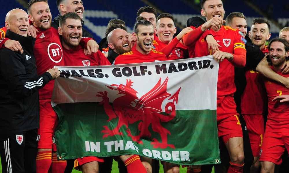 Gareth Bale Wales Golf Madrid