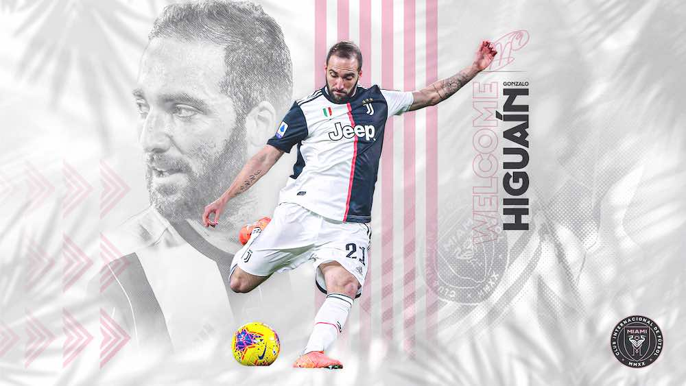 Inter Miami Announce Gonzalo Higuaín As New Designated Player Signing