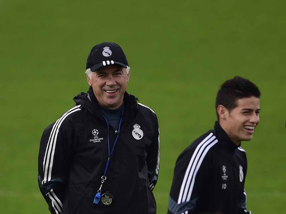 James Rodriguez Ancelotti