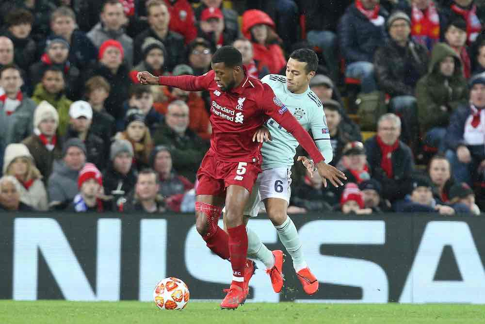 Liverpool's Thiago Transfer Remains In The Balance As Klopp Holds Talks With Wijnaldum