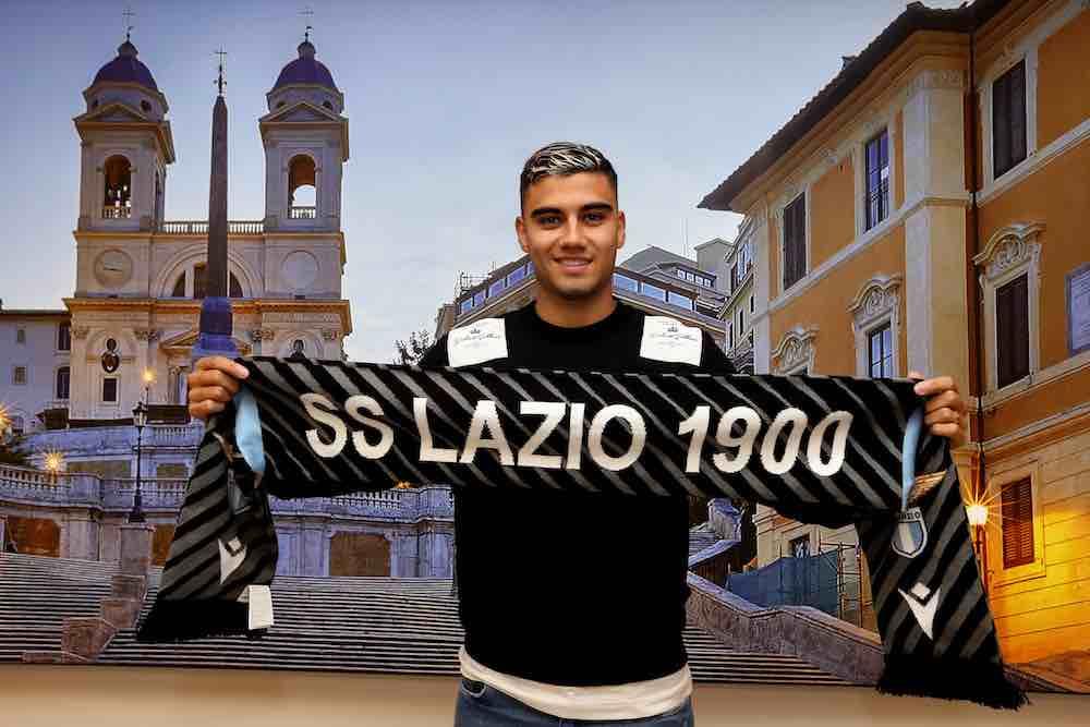 Andreas Pereira Lazio signing Rome