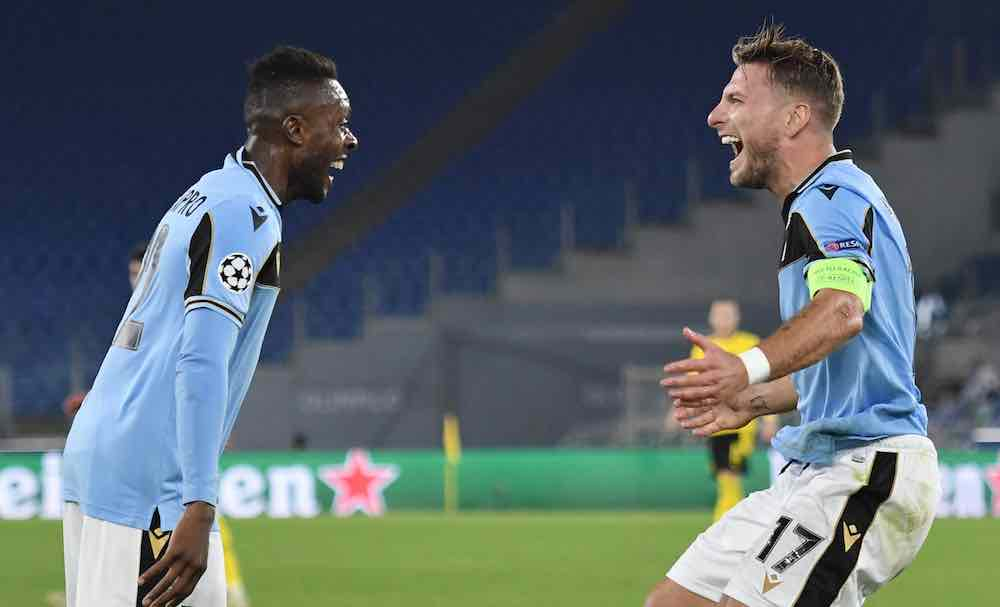 Immobile And Akpa Akpro Help Lazio Defeat Disappointing Dortmund