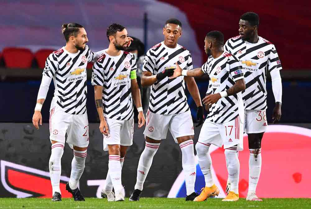 Manchester United Paris Black And White