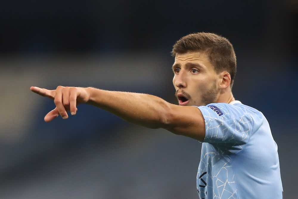 Ruben Dias Well On The Way To Solving Man City's Centre Back Problem