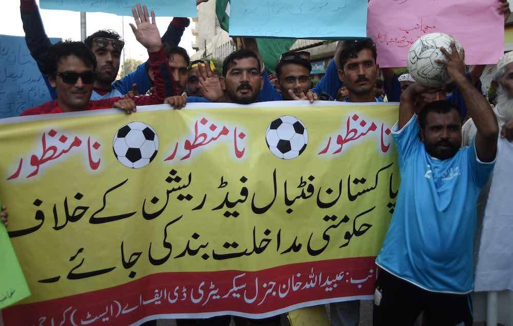 Save Pakistan Football Banner