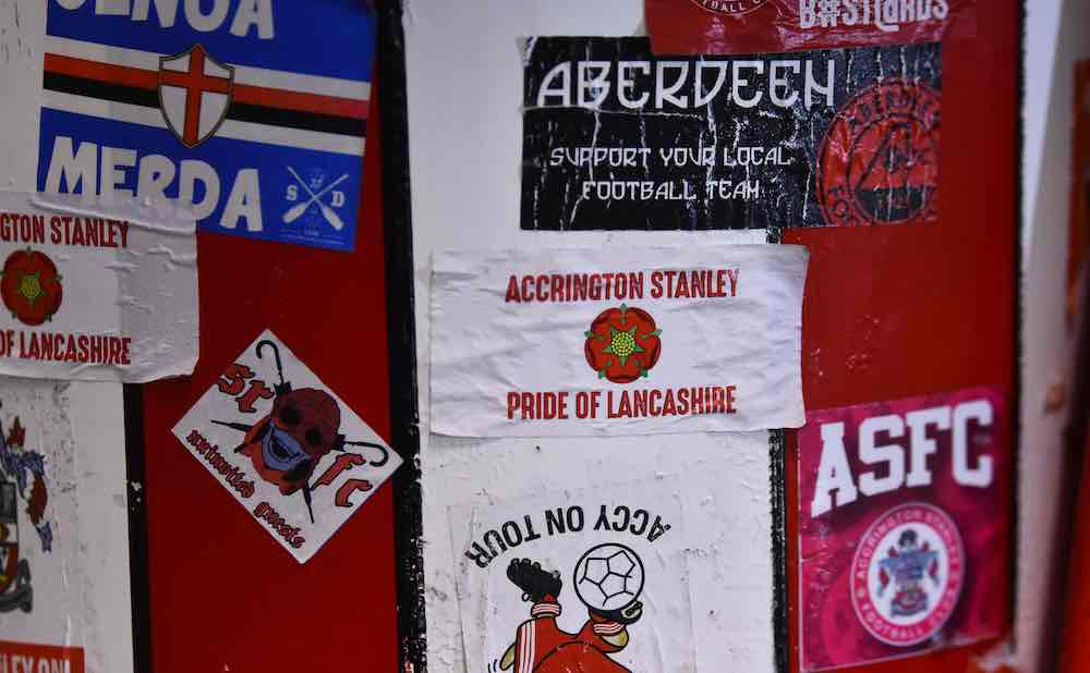 Accrington Stanley Logo Badge Fans