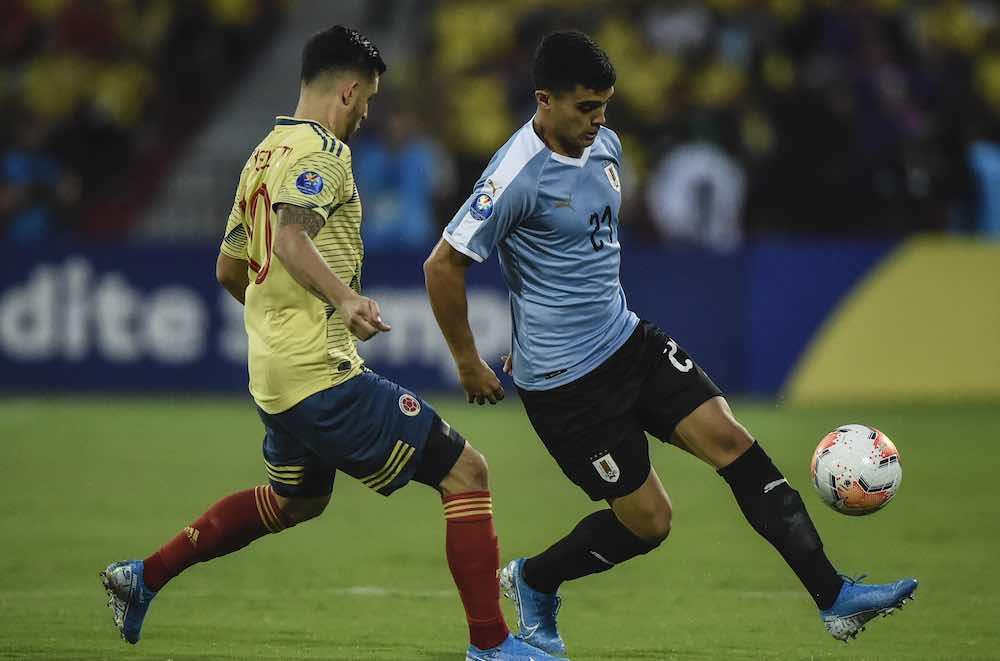 Agustín Oliveros On Being Guided By Godín & Giménez Ahead Of Uruguay Debut