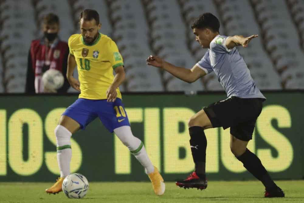 Agustin Oliveros vs Brazil
