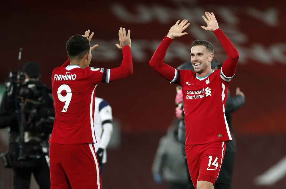 Henderson Firmino Liverpool 12-20