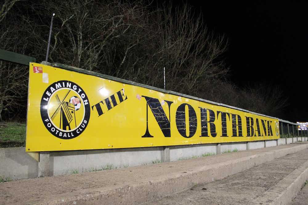 Leamington FC North Bank Banner