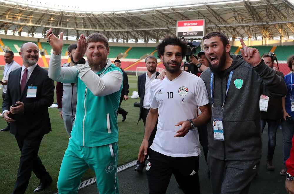Mo Salah Ramzan Kadyrov
