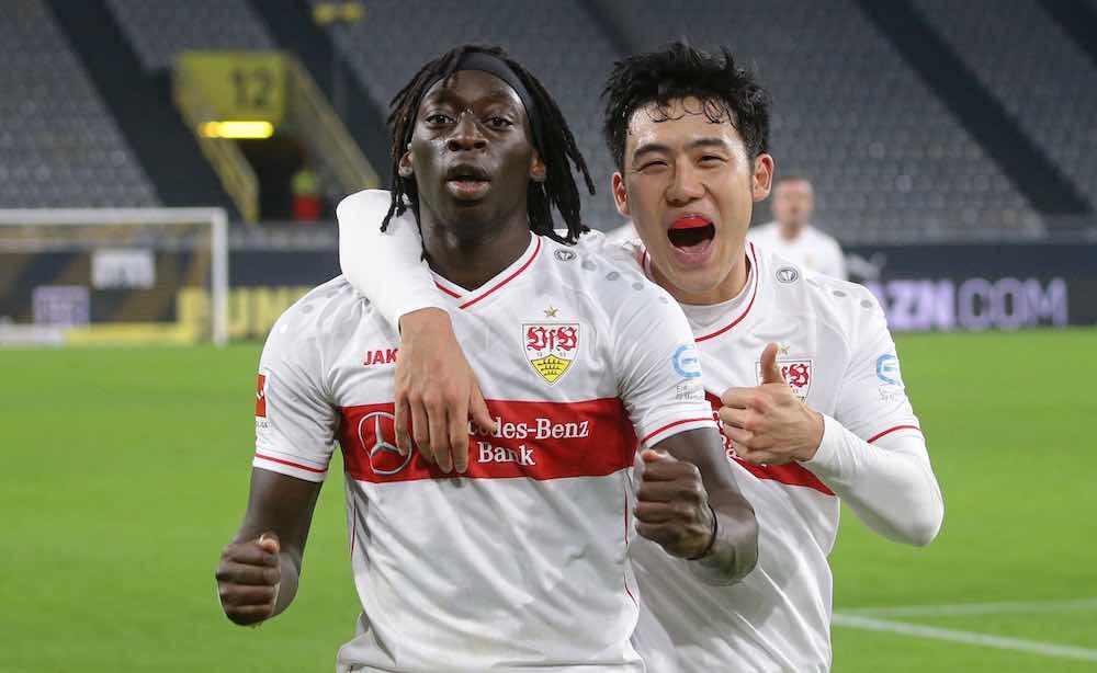 Tanguy Coulibaly Wataru Endo Stuttgart