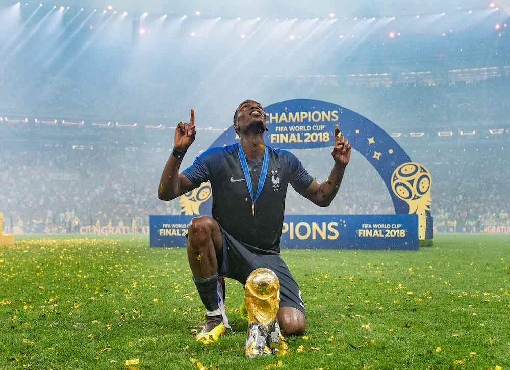 France 2018 World Cup Paul Pogba
