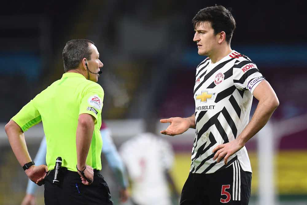 Harry Maguire Referee
