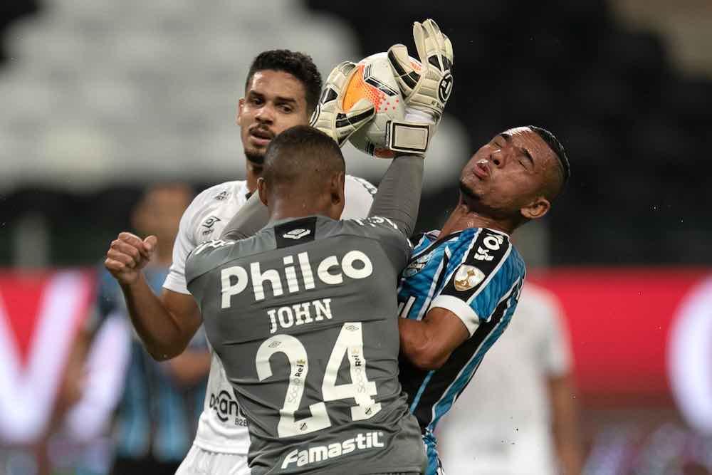 John Santos Goalkeeper Libertadores