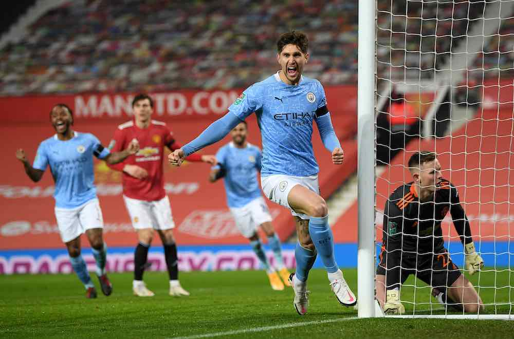 John Stones Goal Man City