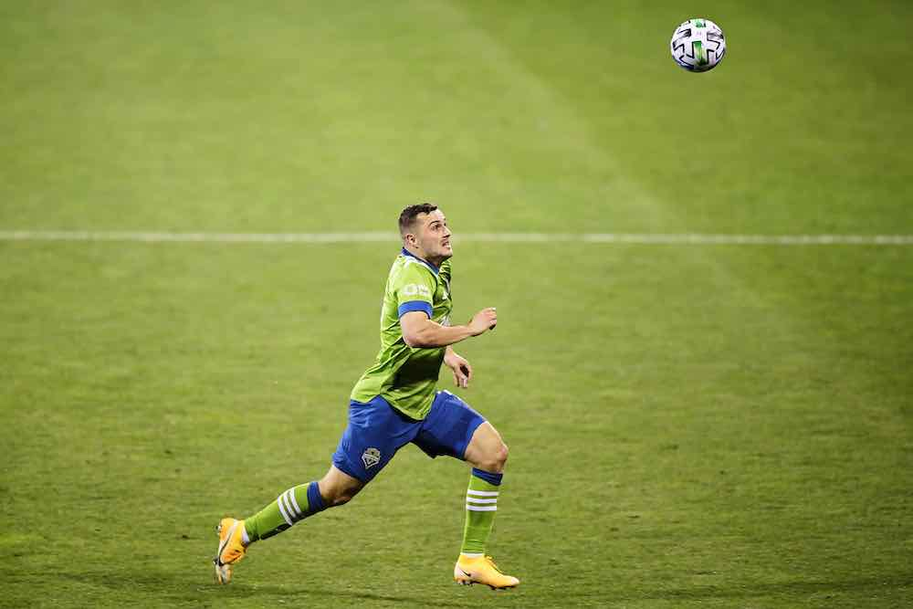 Jordan Morris Seattle Sounders