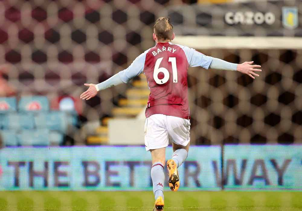 Lethal Louie Barry Takes Another Step Towards Villa First Team
