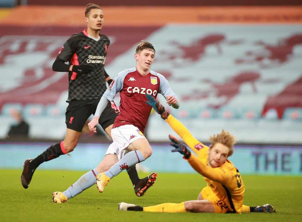Louie Barry Aston Villa Goal