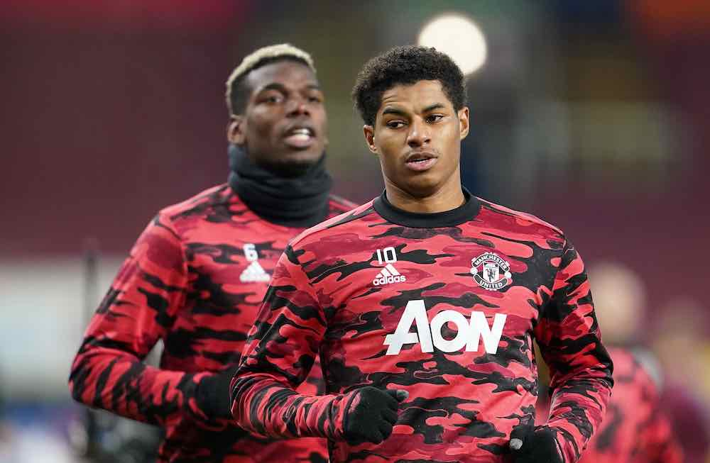 Rashford And Pogba Combine To Send Man United Top Of The Premier League