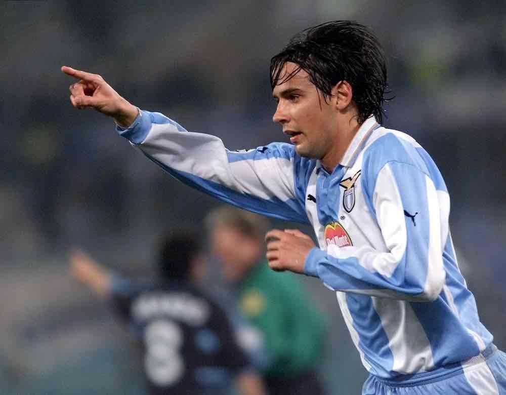 Simone Inzaghi Lazio Player