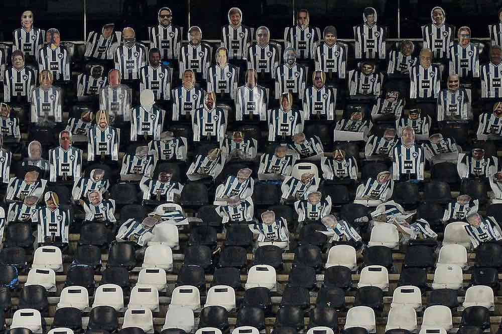 Botafogo Fans cutouts stadium