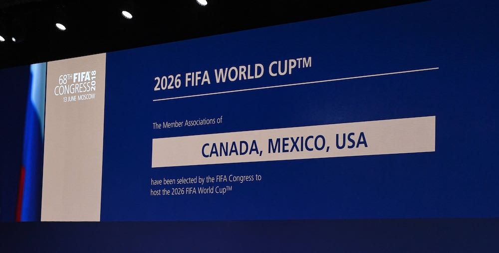 2026 World Cup bid Canada USA Mexico 2