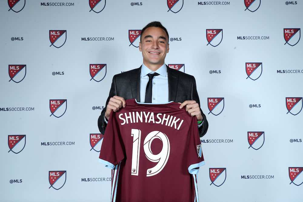 Andre Shinyashiki MLS Draft