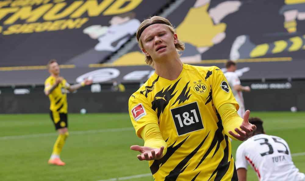 Haaland Frustrated Following Defining Day At The Top Of The Bundesliga